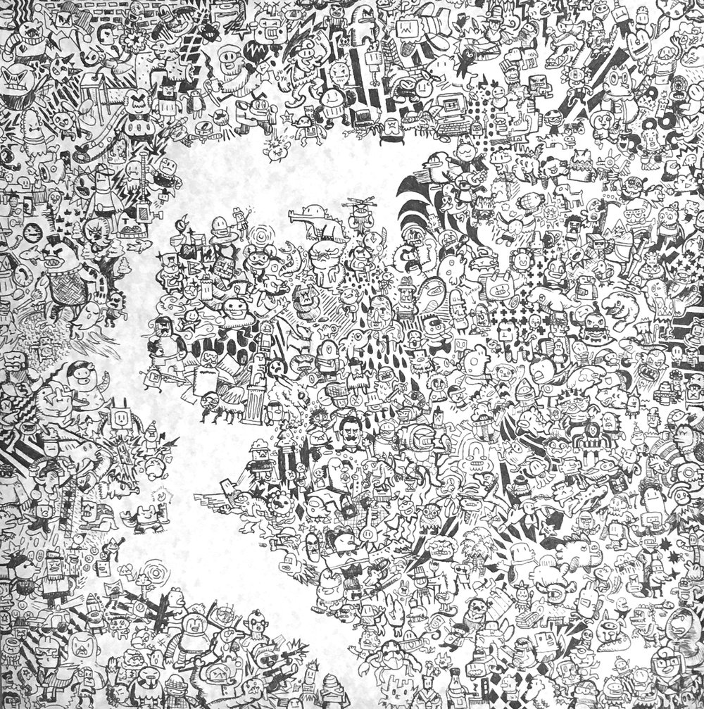 Doodle Renaissance (ink) - Joe Nissenbaum
