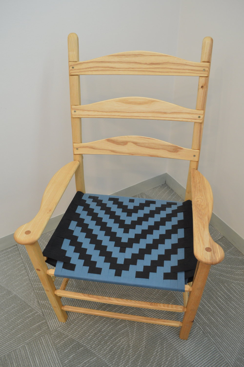 Elder's Chair (woodworking - 19'' x 23'' x 44'') (Part One) - James McCarey