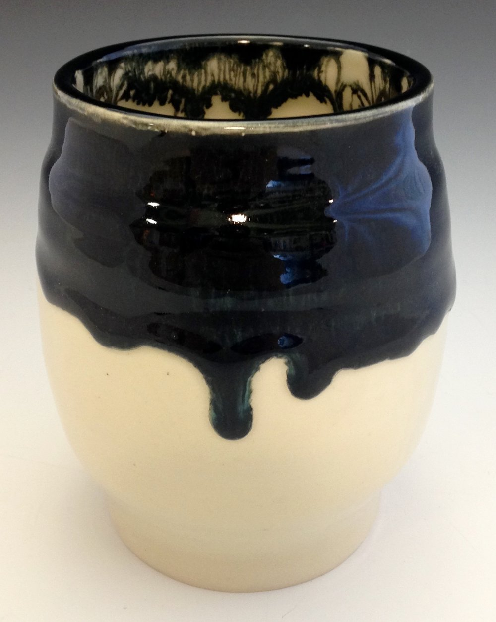 Dripping Vessel (ceramics - 5'' x 5'' x 6'') - Alex Evenchik