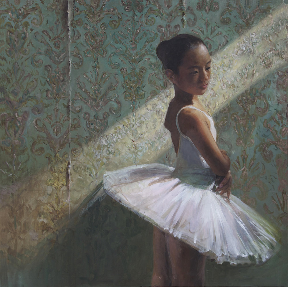 Ardent Aspirations (oil) - Angela Liu