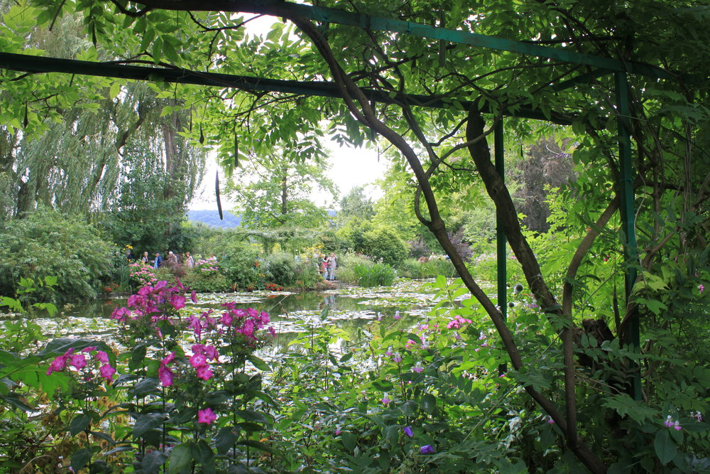 Claude Monet's Garden at Giverny - Emily Angelino