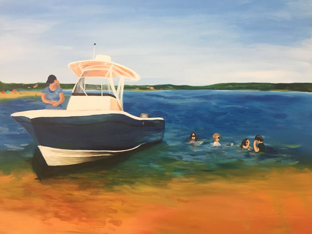 Beached (acrylic) - Bri Forman