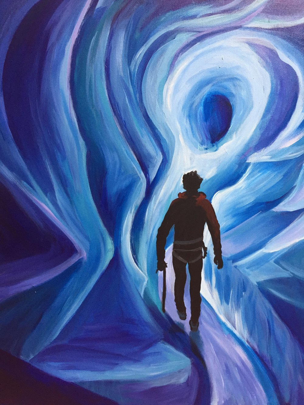 Exploration (acrylic) - Bri Forman