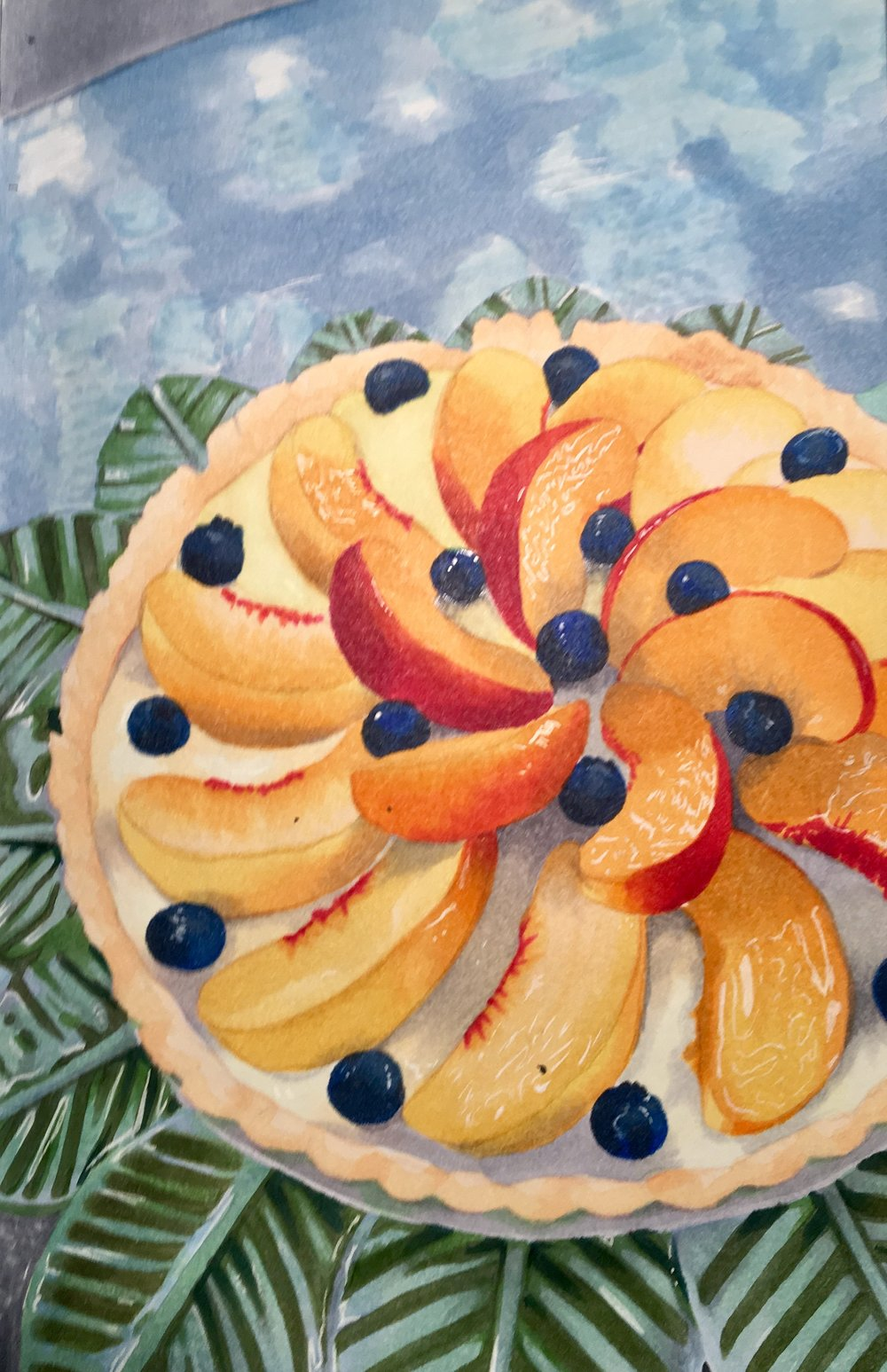 Fruit Tart (marker) - Kate Whitaker