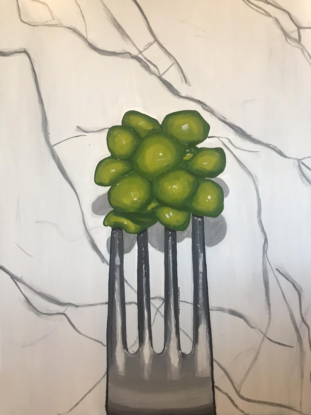 Peas - Maddie Burns