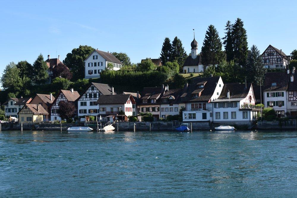 Afternoon on the Rhine - Klara Kuemmerle
