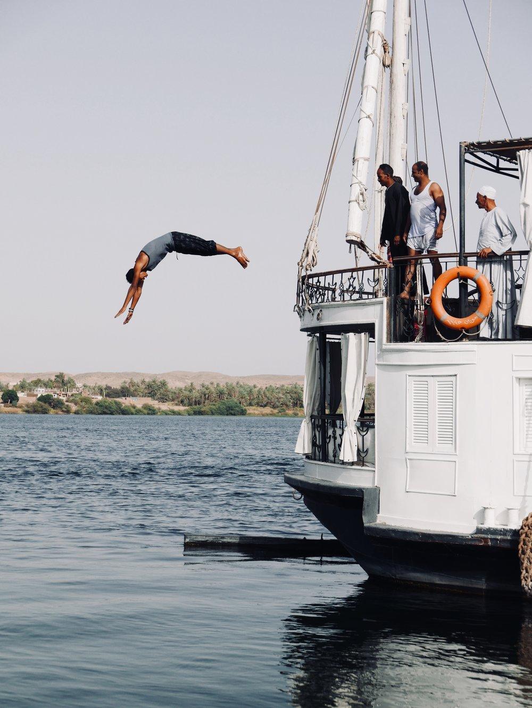 Nile Swim - Magnus Aske
