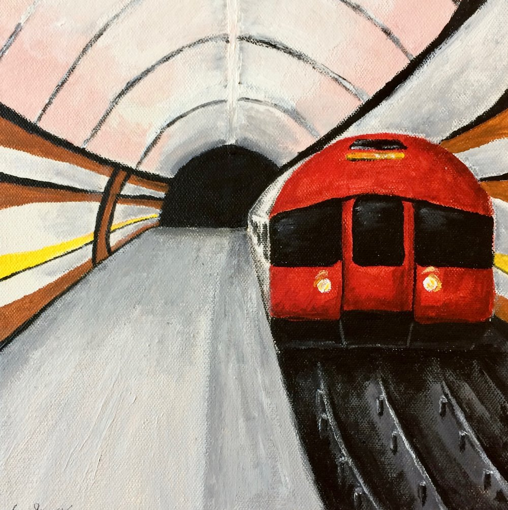 Cruisin' on the Tube - Simru Sonmez-Erbil