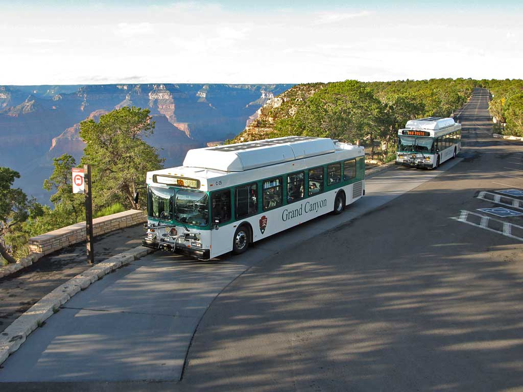 South Rim Shuttle Buses