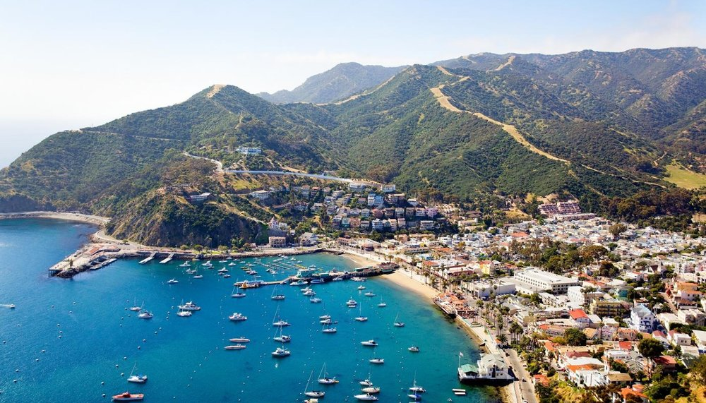Avalon, California and Catalina Island