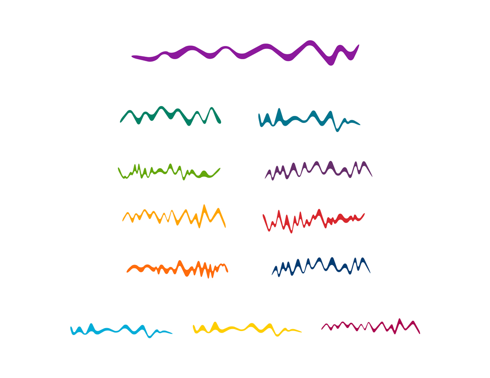GRAPHIC COMPONENTS – WAVES