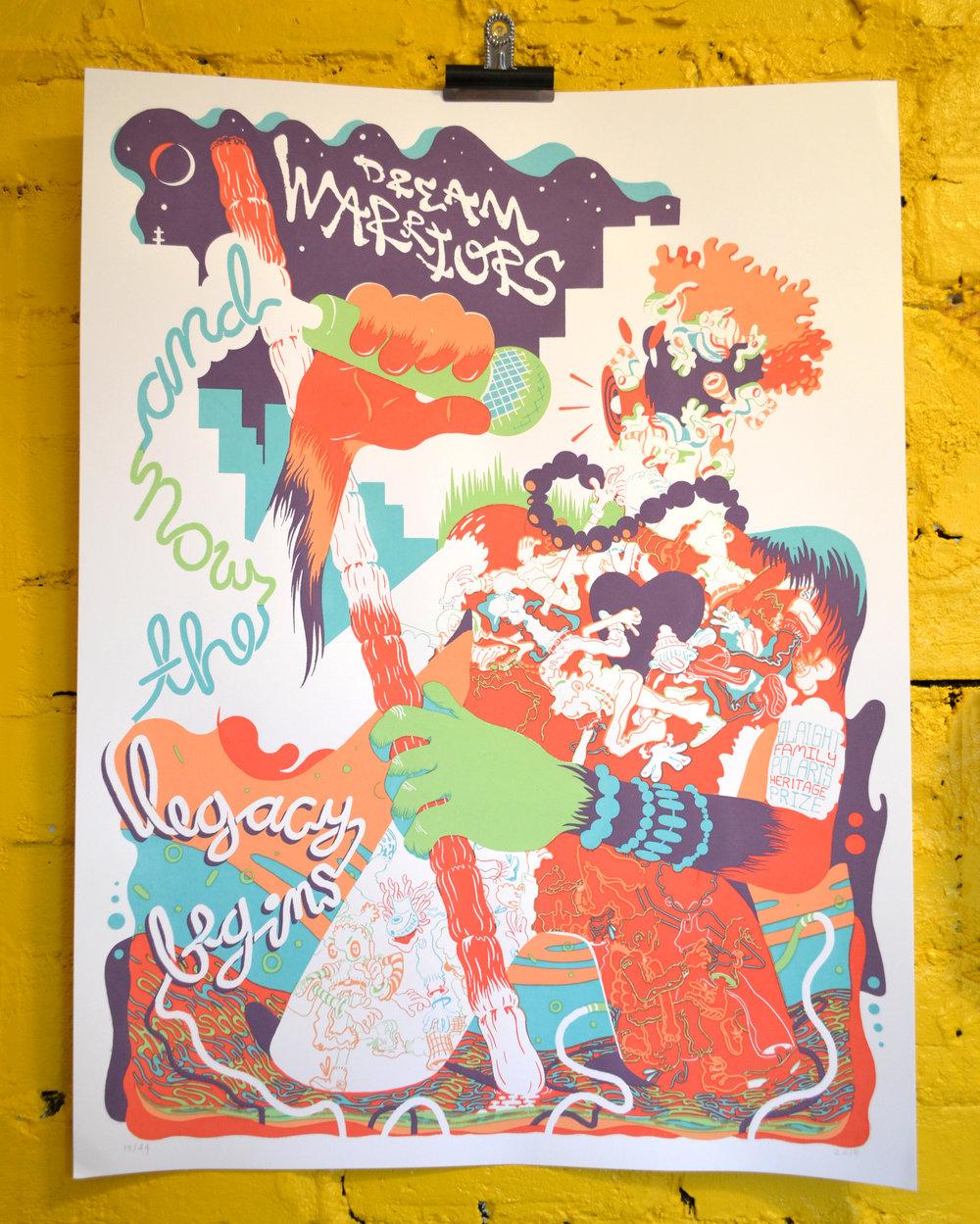 Slaight Family Polaris Heritage Prize Poster - Dream Warriors