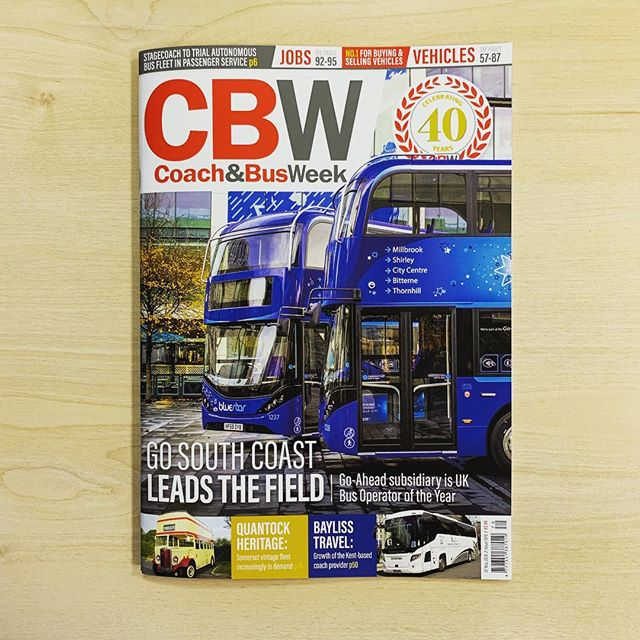 A few weeks on since the #coachandbusweek redesign and the template is really starting to settle in. Even though I created it, it still takes some getting used to, but very happy with the results! #graphicsdesigner #graphicdesign #design #magazine #cover #layout #indesign #redesign #new #artwork #layout #designer #freelance #coach #bus #editorial #feature