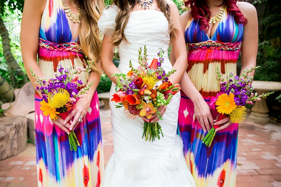 Real Wedding Wednesday A Kickass Super Colorful Mexican Themed