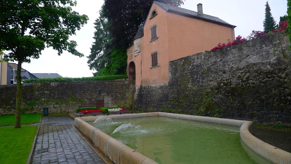 Chateau de Mersch, Luxembourg