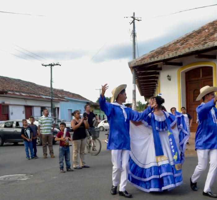 Dancers in Granada, Nicaragua