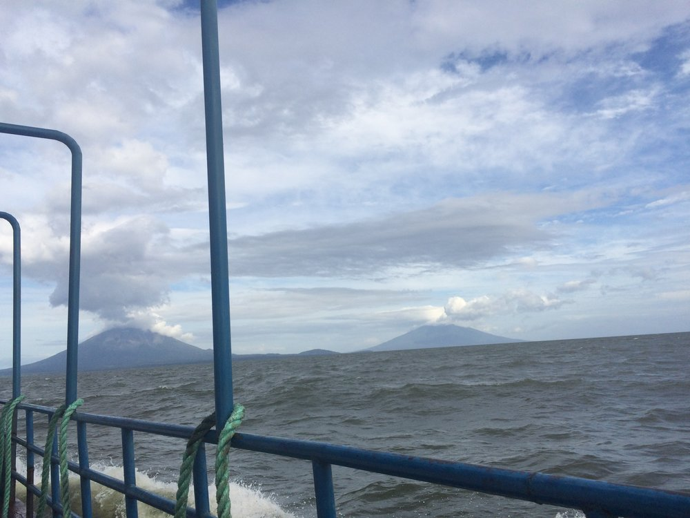 Ferry to Ometepe Island