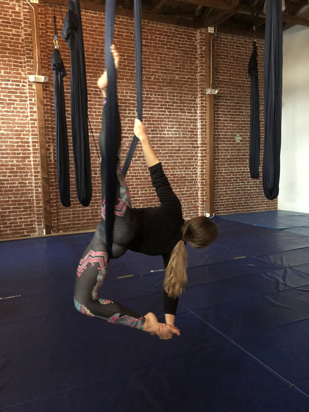 Aerial Yoga at Kinship Yoga