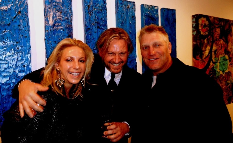 Mr. and Mrs. Brett Hull art auction fundraiser D.C.A.C.