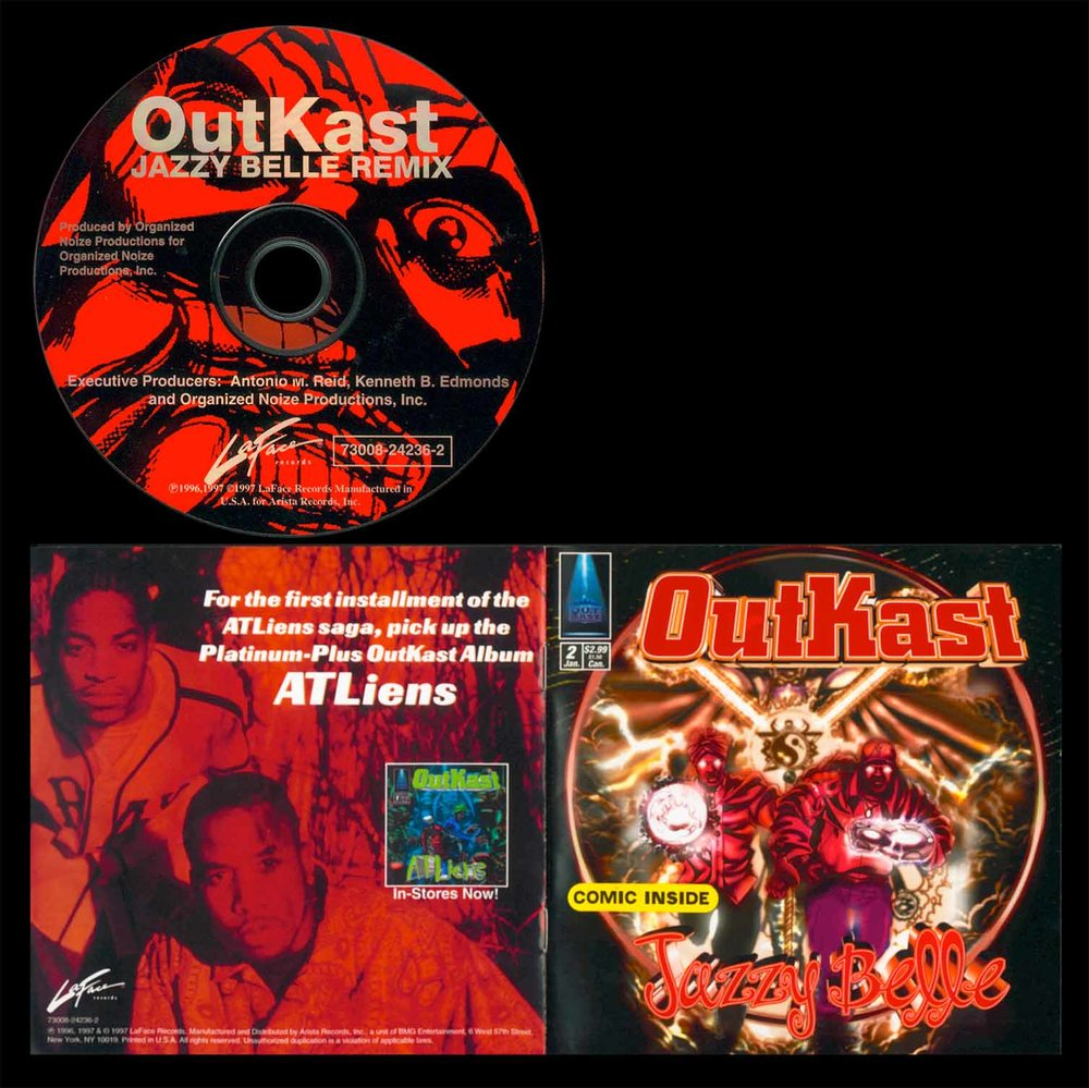 Designed single album cover / CD / Comic Book / for Grammy Award Winning Artist OutKast.
