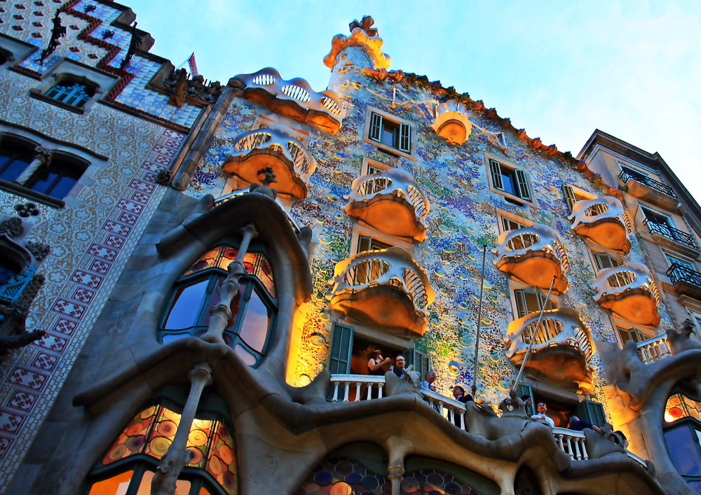 Gaudi's Barcelona - photo courtesy of Christine Zenino