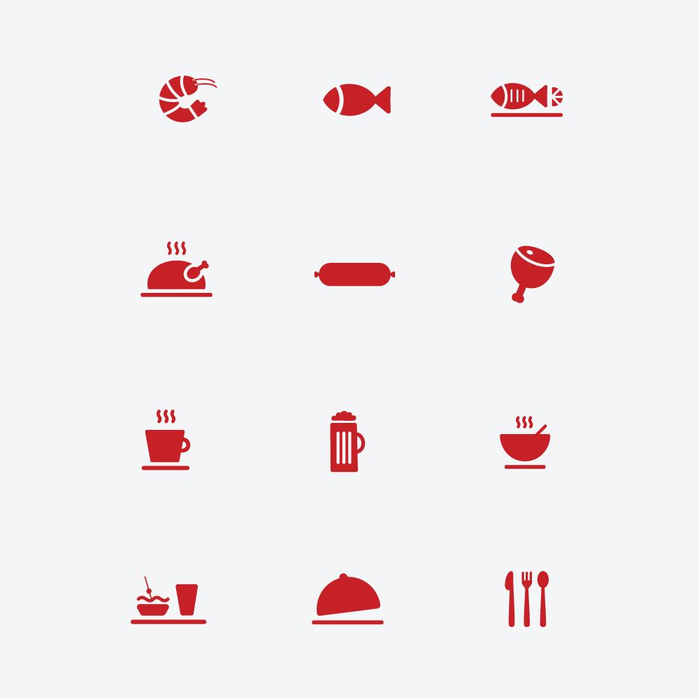 ikone za restavracijo