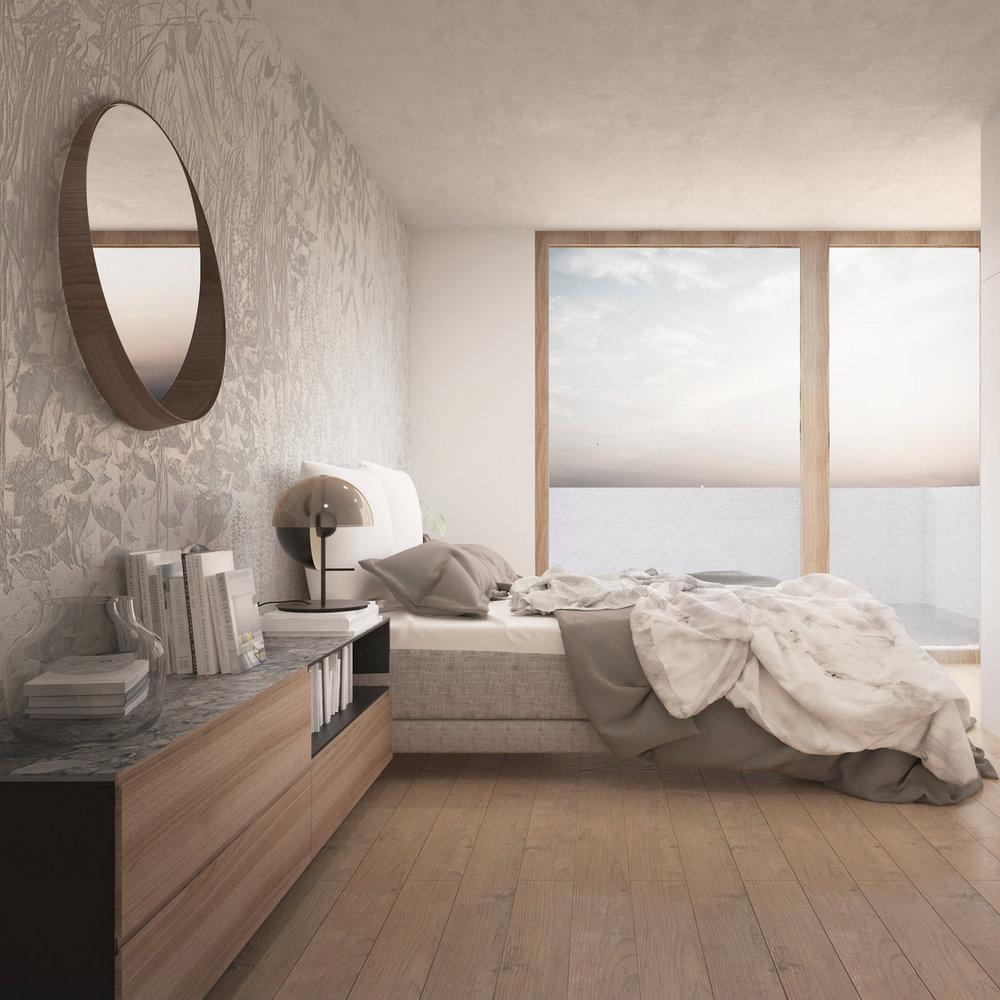 Eko-hiša Brod - Eleganten interier lesene montažne hiše