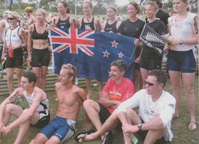 """""""Bet on it- it's going to be something big.""""  Publication: New Zealand Multisport and Triathlete  Feature title: Maui Xterra