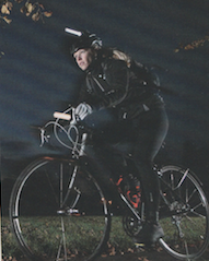 """""""Being late for work is a good motivator""""  Publication: Cycling Weekly  Feature title: How to maximise the benefits of commuting for your training 