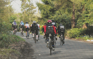 """Working with cyclists is a pleasure. They enjoy the challenge in both riding and fund-raising""  Publication: Cycling Weekly  Feature title: Sportive charity success 
