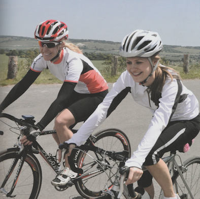 My first cyclosportive was a women-only event called the Diva 100 in Sussex.  Publication: Cyclosportive  Feature title: First-time participant: Jo Dytch | PDF1 ,  PDF2