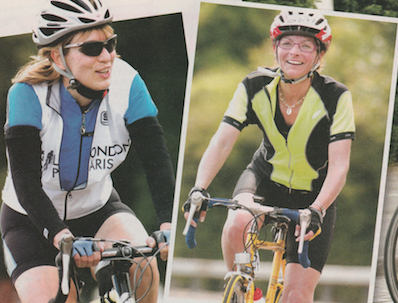 Even if you haven't been on a bike since you were a little girl, now is time to ditch your inhibitions, dust off your old bike and get out on the road. Expert cyclist Penny Comins provides some top tips and advice.  Publication: Fitness For Women  Feature title: Get started in cycling | PDF1 ,  PDF2 ,  PDF3 ,  PDF4