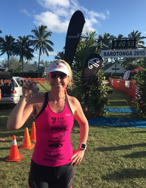 After a recent break to her regular intensive training regime. Penny has been returning to her triathlon roots before her focus returns to the French Alps, taking part in the Rarotonga Triathlon. Website: Tri247 Feature link