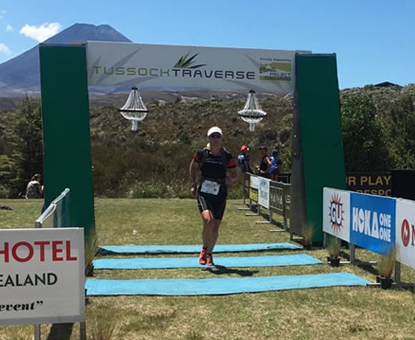 Penny Comins is making progress. The triathlete turned Ultra runner (for 2015 anyway!), has been testing out her preparation for the 85km Tarawera Ultra Marathon by racing in a 26 km event, the Tussock Traverse ( www.tussocktraverse.co.nz ). Despite doubts about her training times and feeling she was 'flying'-consistency works.  Website: Tri247   Feature link