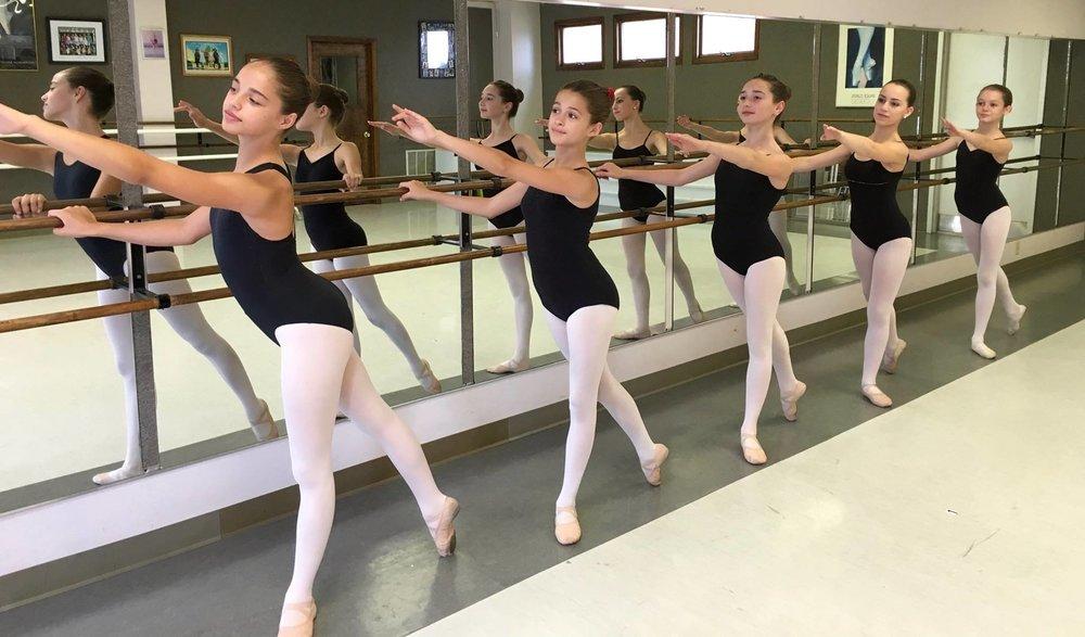 Our ballet studio.