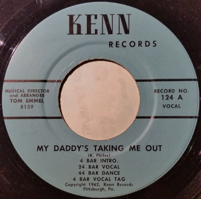 A Kenn Record by Ken Phifer, 1962.