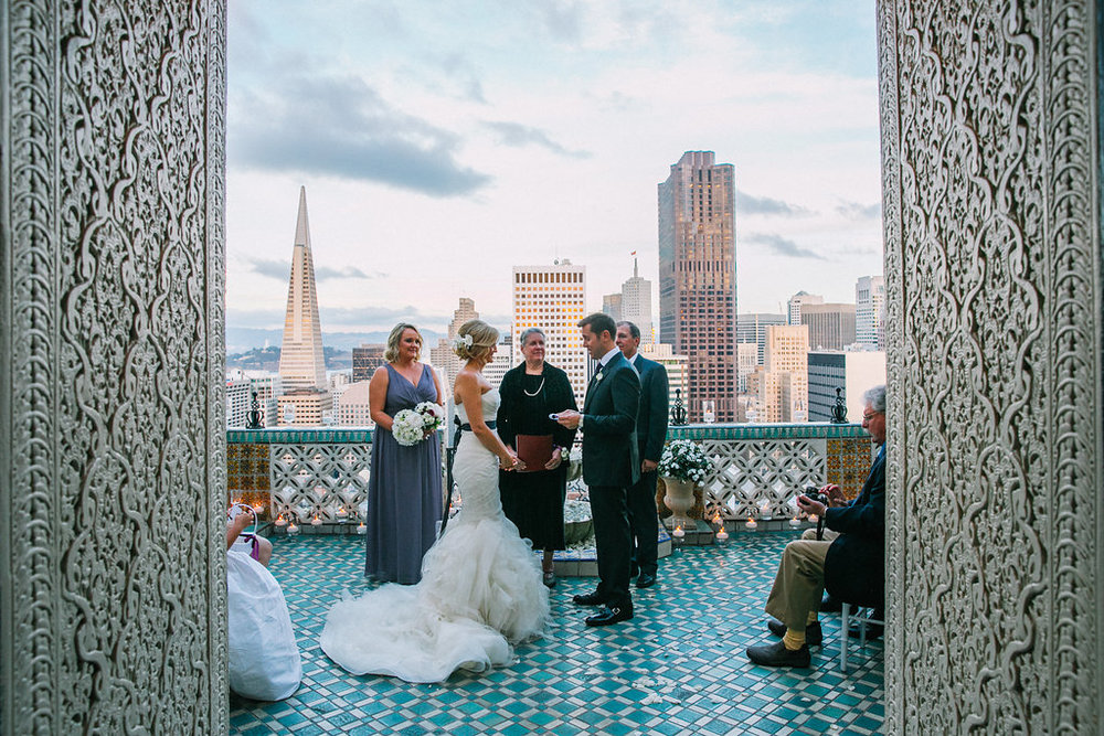 fairmont penthouse gallery OUI Weddings and Events