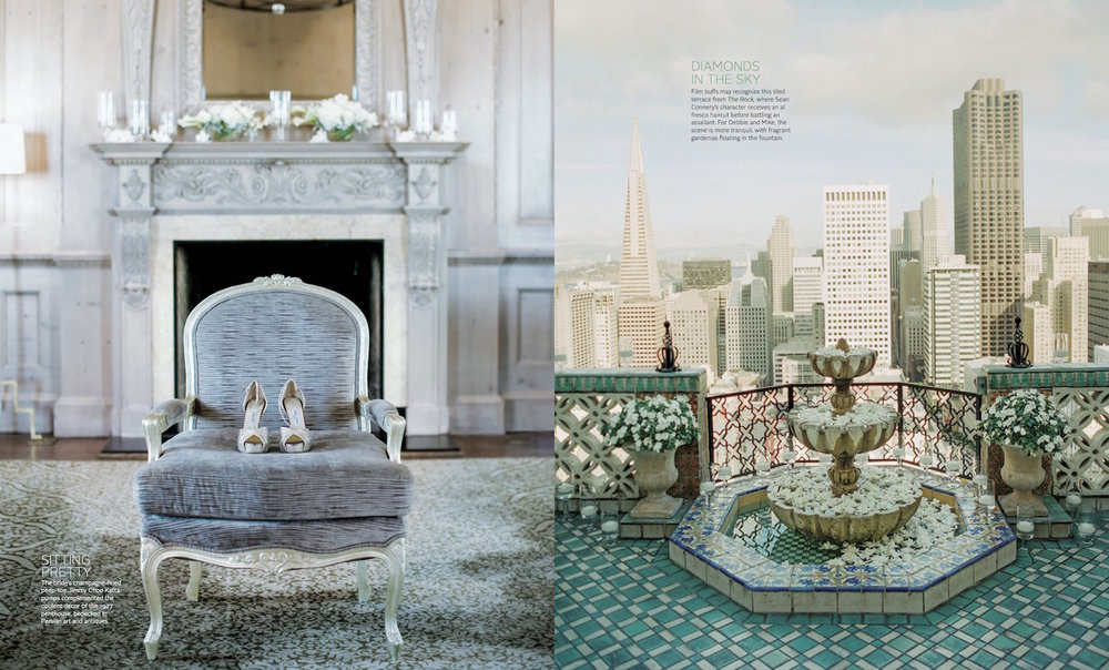 OUI Wedding Planning and Design | Fairmont San Francisco Wedding