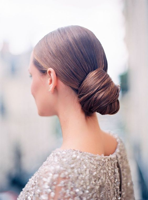 Wedding Hairstyle Chignon The Fairmont