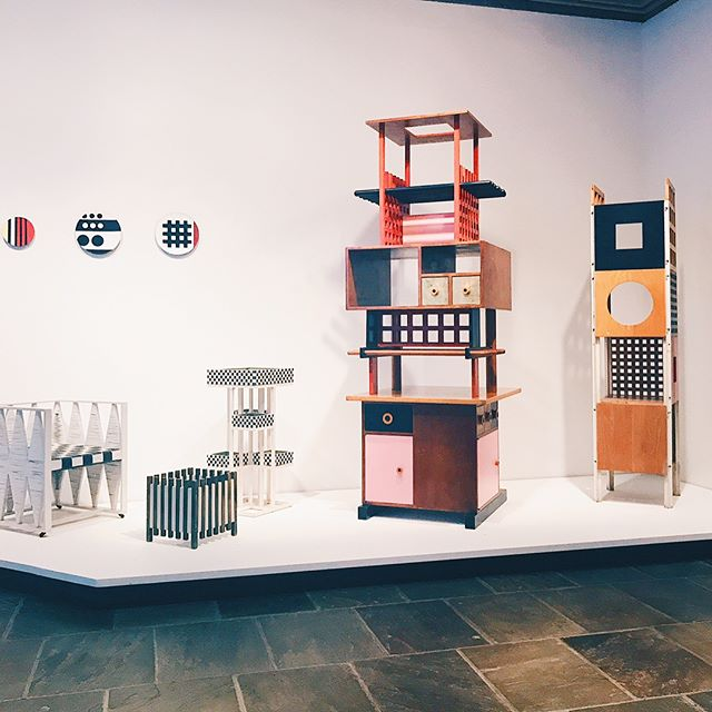 🔺🔹▪️Last night's tour of Ettore Sottsass at The Met Breuer ▪️🔹🔺