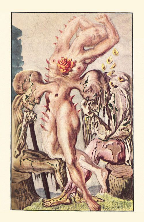 from The Essays of Montaigne, illustrated by Salvador Dali (1947)