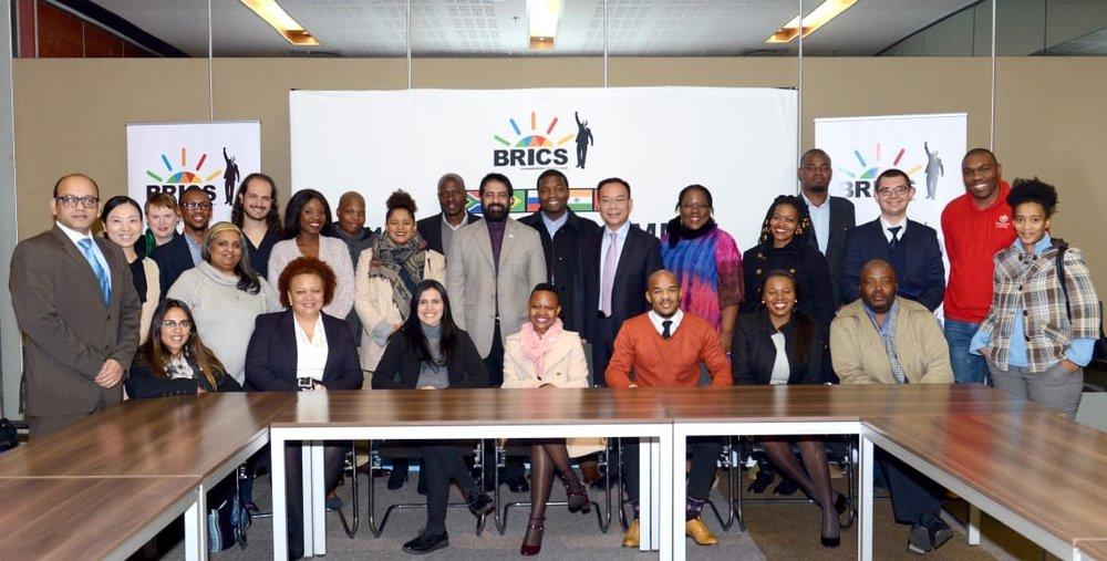 During our meeting we also attended the Civil Society Outreach Programme of the BRICS Sherpa