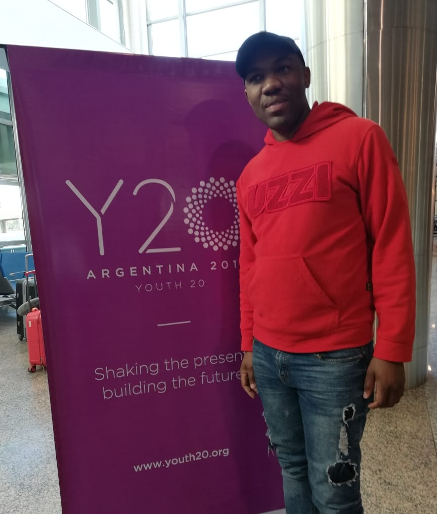 Raymond represented us in Y20 in Argentina after our meeting