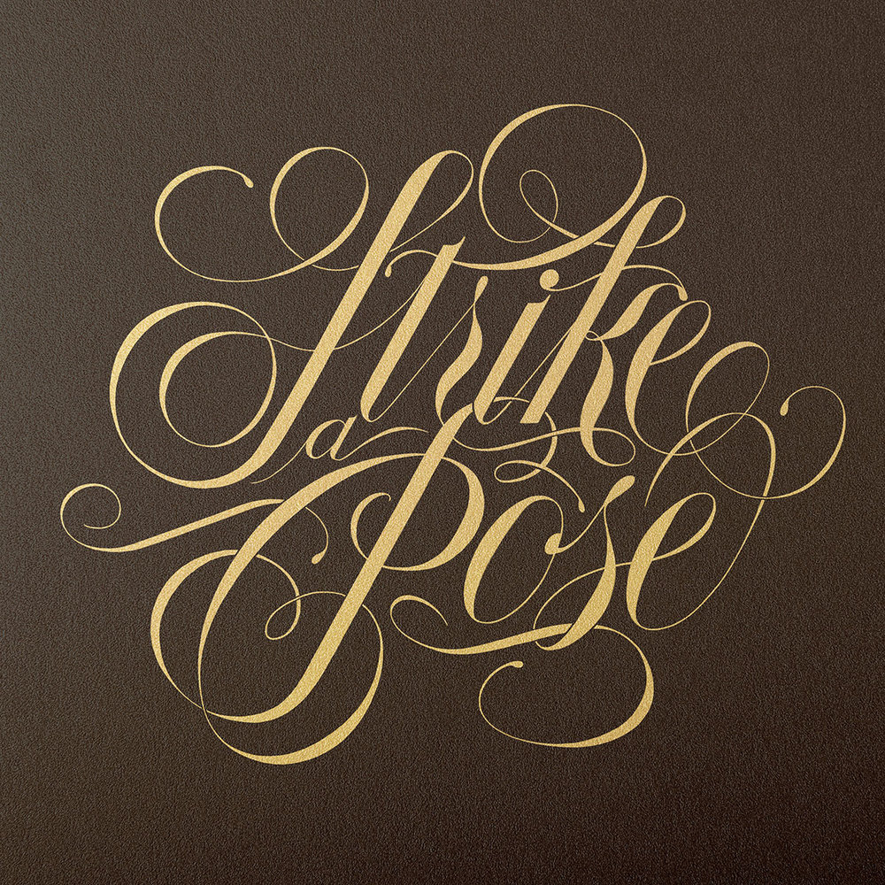 Handlettering—StrikeAPose.jpg