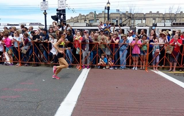 """The Boston kudos continue! This one direct from Coach Mario to one of his long-time athletes: """"At the Boston Marathon, Hilary Corno finished third amongst Masters women and was the 24th female overall in 2:42:16, a new personal best by 47 seconds. I've been coaching Hilary for 6 years and she's improved her marathon PB time by 13 minutes in that time. Trust, patience, process."""" 🏃🏻♀️ . . #bostonmarathon #ekidenathlete #trusttheprocess #marathontraining"""