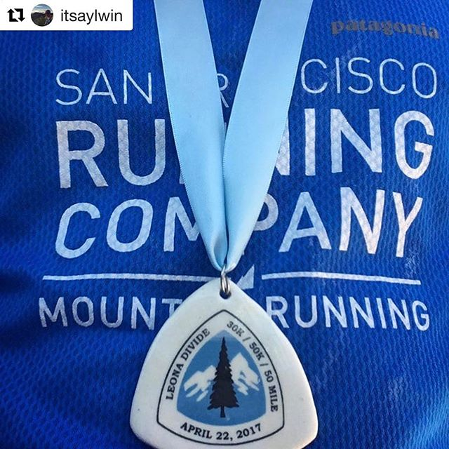 Belated kudos and #medalmonday to #ekidenathlete @itsaylwin for opening his 2017 race season at the blazing hot Leona Divide 50k. 🏅👊🏼 . . . #Repost @itsaylwin with @repostapp ・・・ First race of the season! After a week of worrying about which flask, vest, or bottle, a not so great travel day with the city power outage and flight delays, and 3 hours of sleep....the execution was spot on. Very happy with the result and I ran slightly faster than my predicted time even though the temperatures hit the upper 80s, but I played my cards right, was patient, attentive throughout the race, kept the 'bigger picture' in mind and earned my way to 16th place. Thanks to @mariofraioli, head coach of @ekidencoaching, for his guidance over the past 1.5 years, and @run_rudy who helped calm my worries at the start line, and who crushed a hot hot 50 mile for 4th place!! Now to recover and taper for the bigger race....Miwok 100K in 2 weeks! • • #sfrc #run #race #trail #pct #ultrarunning #50k #ekiden #ekidenathlete