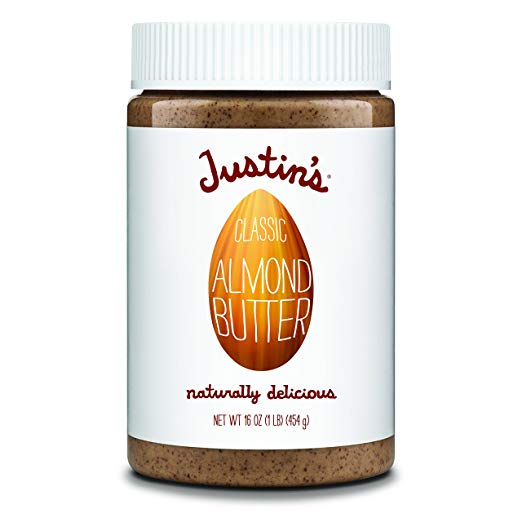 A no-stir almond butter to use in baking, snacks, stir fry sauces, and on top of sliced apples.