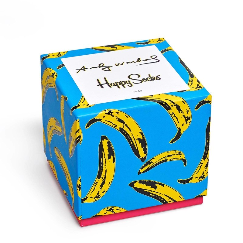 Limited Edition Andy Warhol socks! I can definitely think of several men who would love these colorful socks :) Definitely not a boring pattern ;)