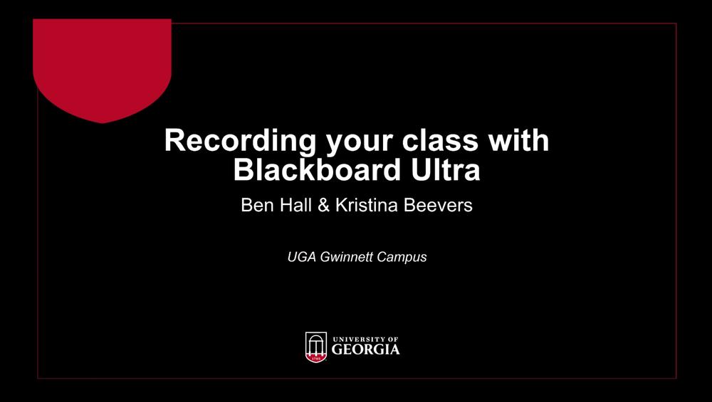 Blackboard Ultra Project.png