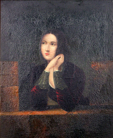Unattributed artist, Portrait of Unknown Lady, Collection of The Suter Art Gallery Te Aratoi o Whakatu: Bequeathed by Mrs E. Brough in 1980.